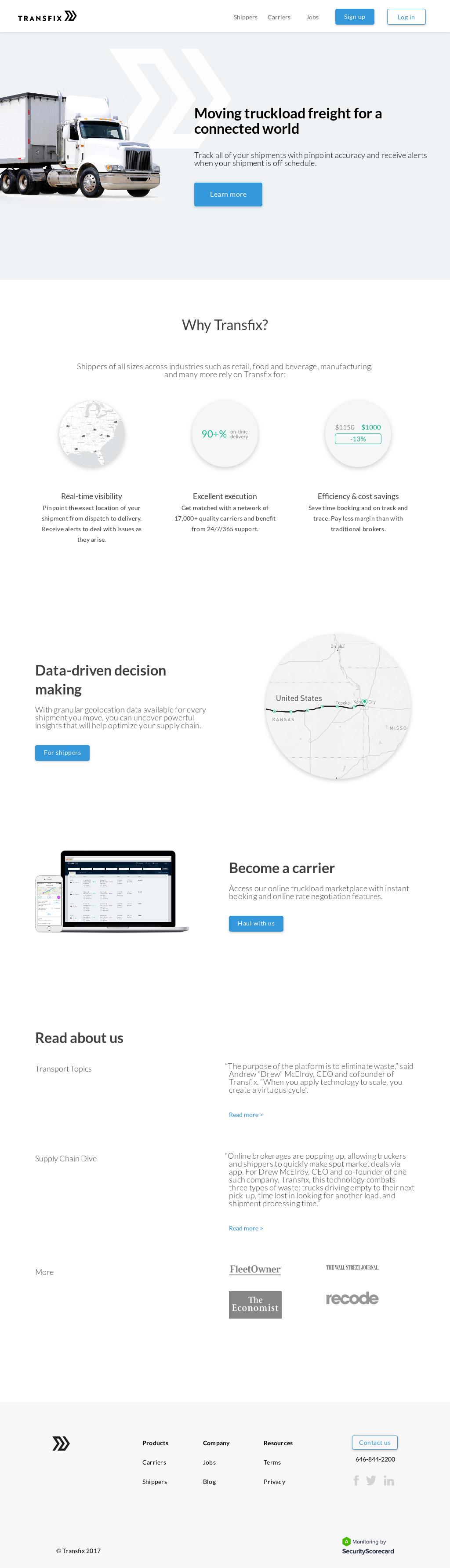 Transfix Competitors, Revenue and Employees - Owler Company Profile