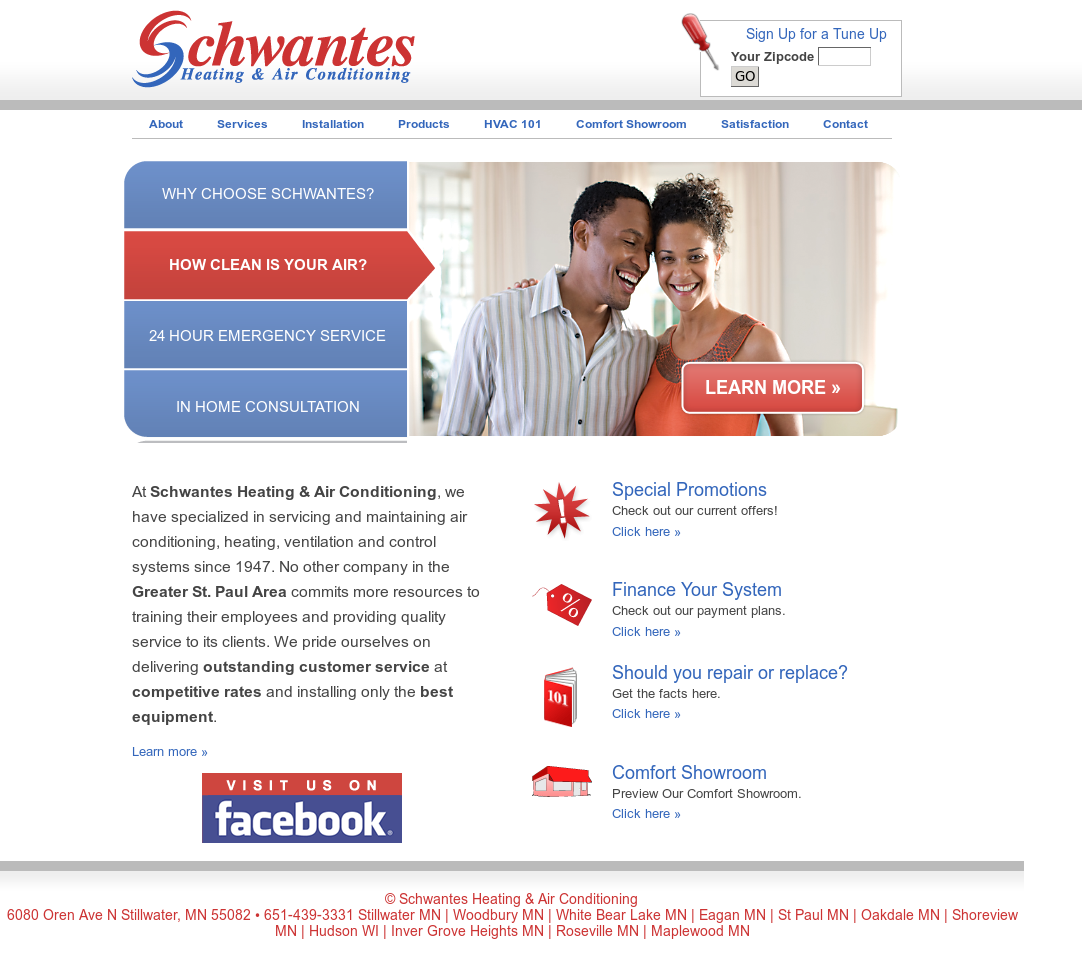 Schwantes Heating Air Conditioning Compeors Revenue And Employees Owler Company Profile