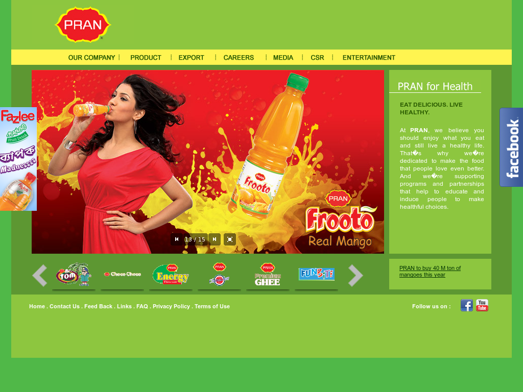 PRAN Foods Competitors, Revenue and Employees - Owler