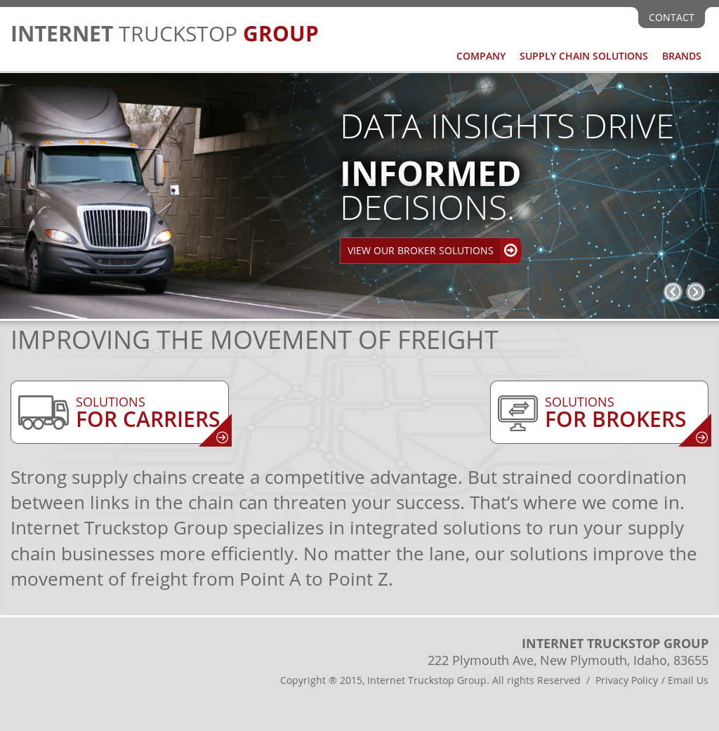 Internet Truckstop Group Competitors, Revenue and Employees