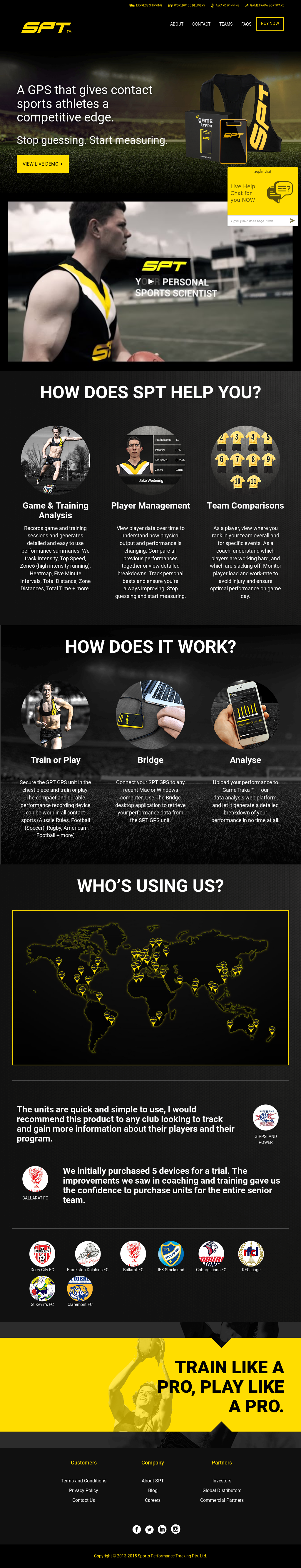 Sports Performance Tracking Competitors, Revenue and Employees