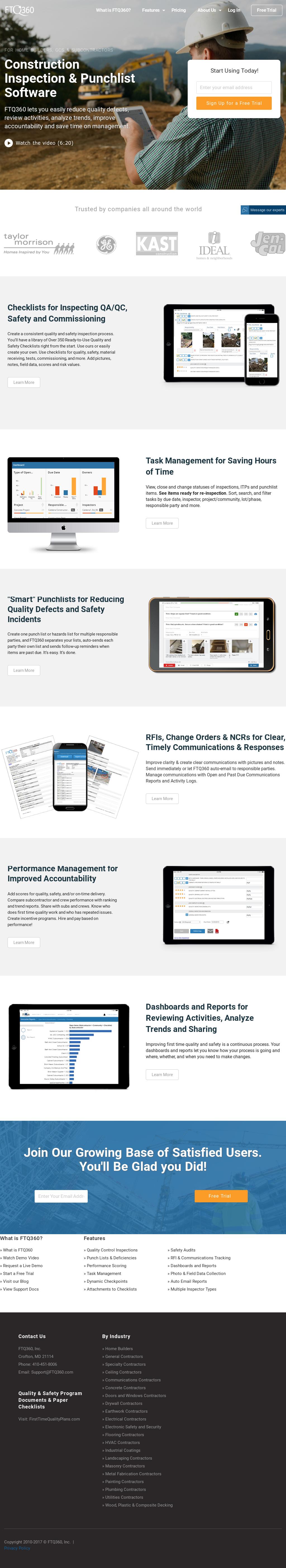 Ftq360 Competitors Revenue And Employees