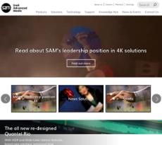 Snell Advanced Media website history