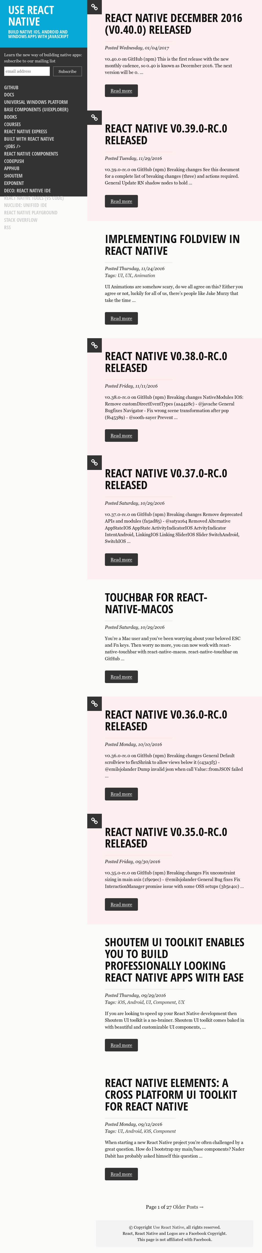 Use React Native Competitors, Revenue and Employees - Owler Company