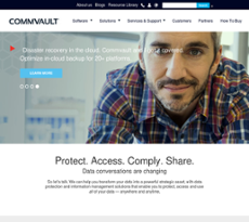 Commvault website history