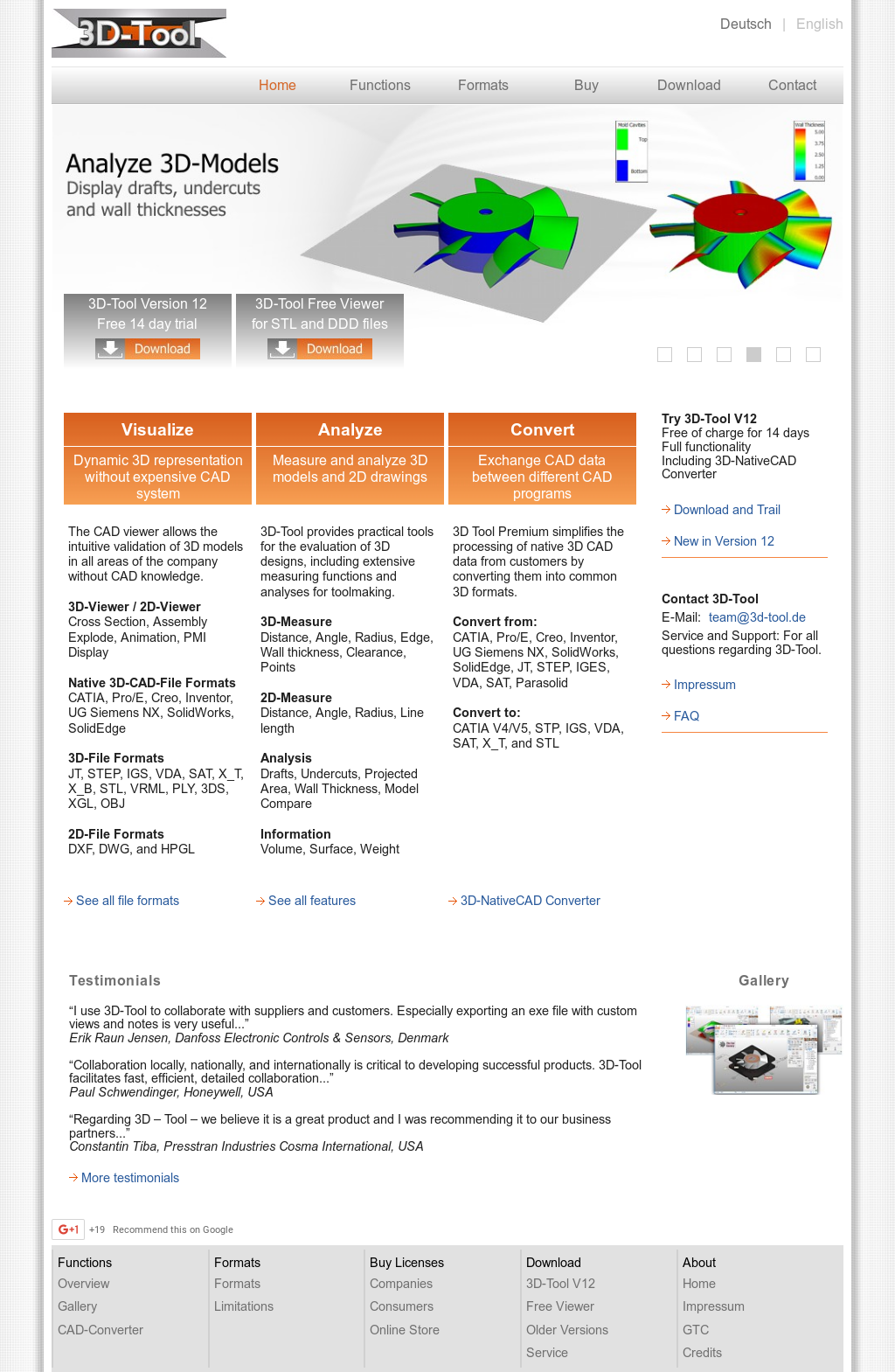 3D-Tool Competitors, Revenue and Employees - Owler Company Profile