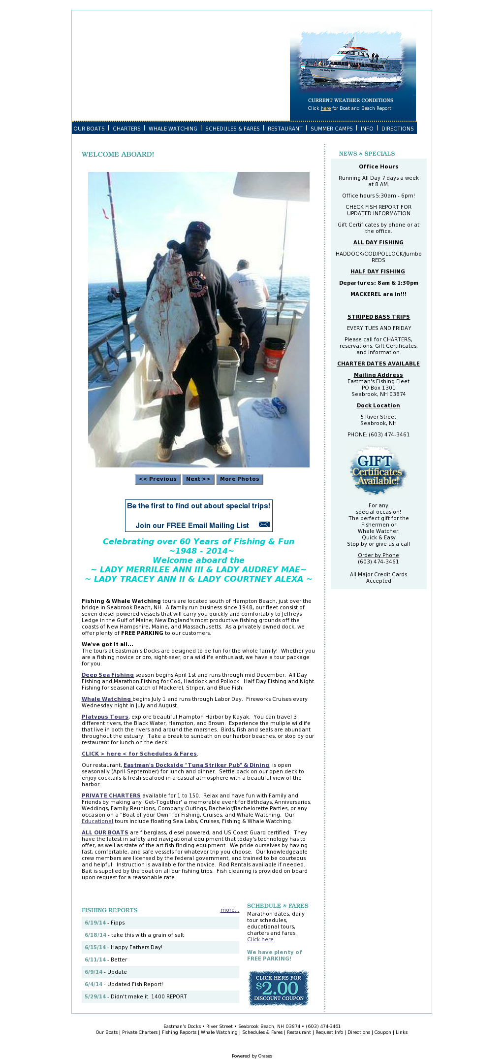 Eastman's Fishing Fleet Competitors, Revenue and Employees