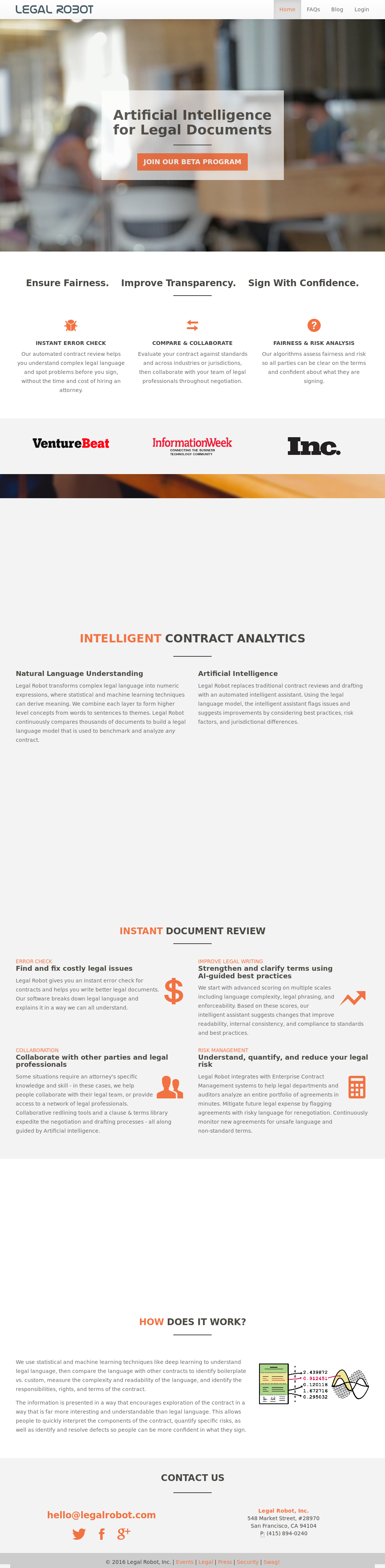 Legal Robot Competitors, Revenue and Employees - Owler Company Profile