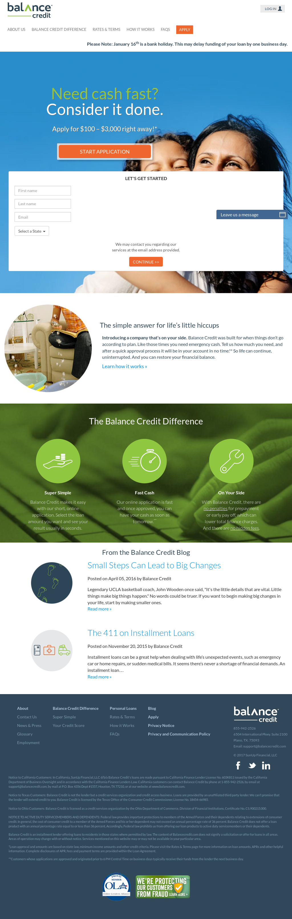 Balance Credit Competitors, Revenue and Employees - Owler