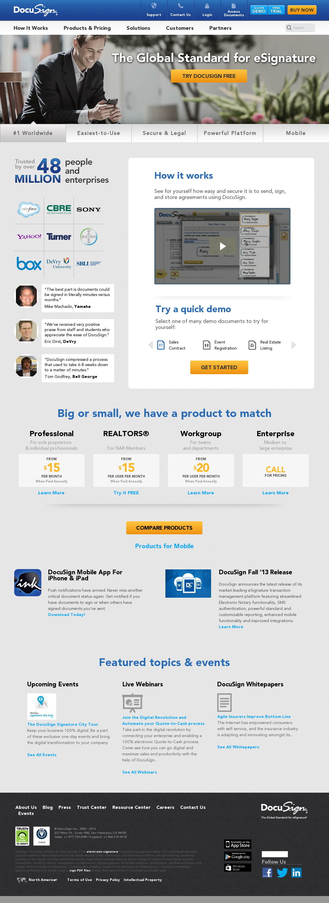 Docusign competitors revenue and employees owler company profile docusign website history biocorpaavc Image collections
