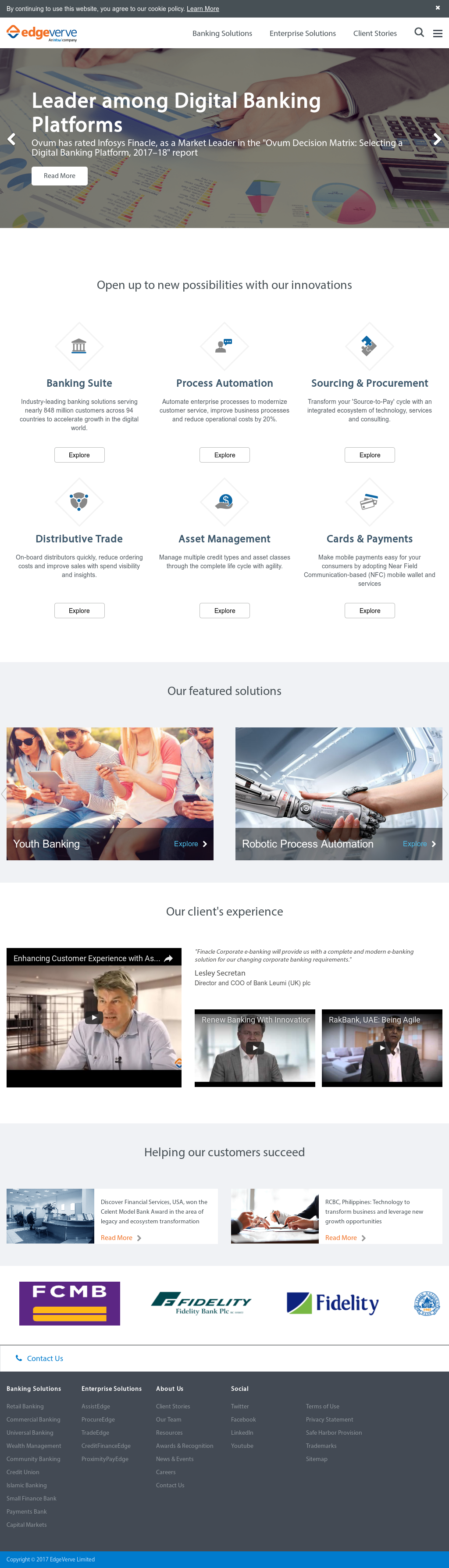 EdgeVerve Competitors, Revenue and Employees - Owler Company