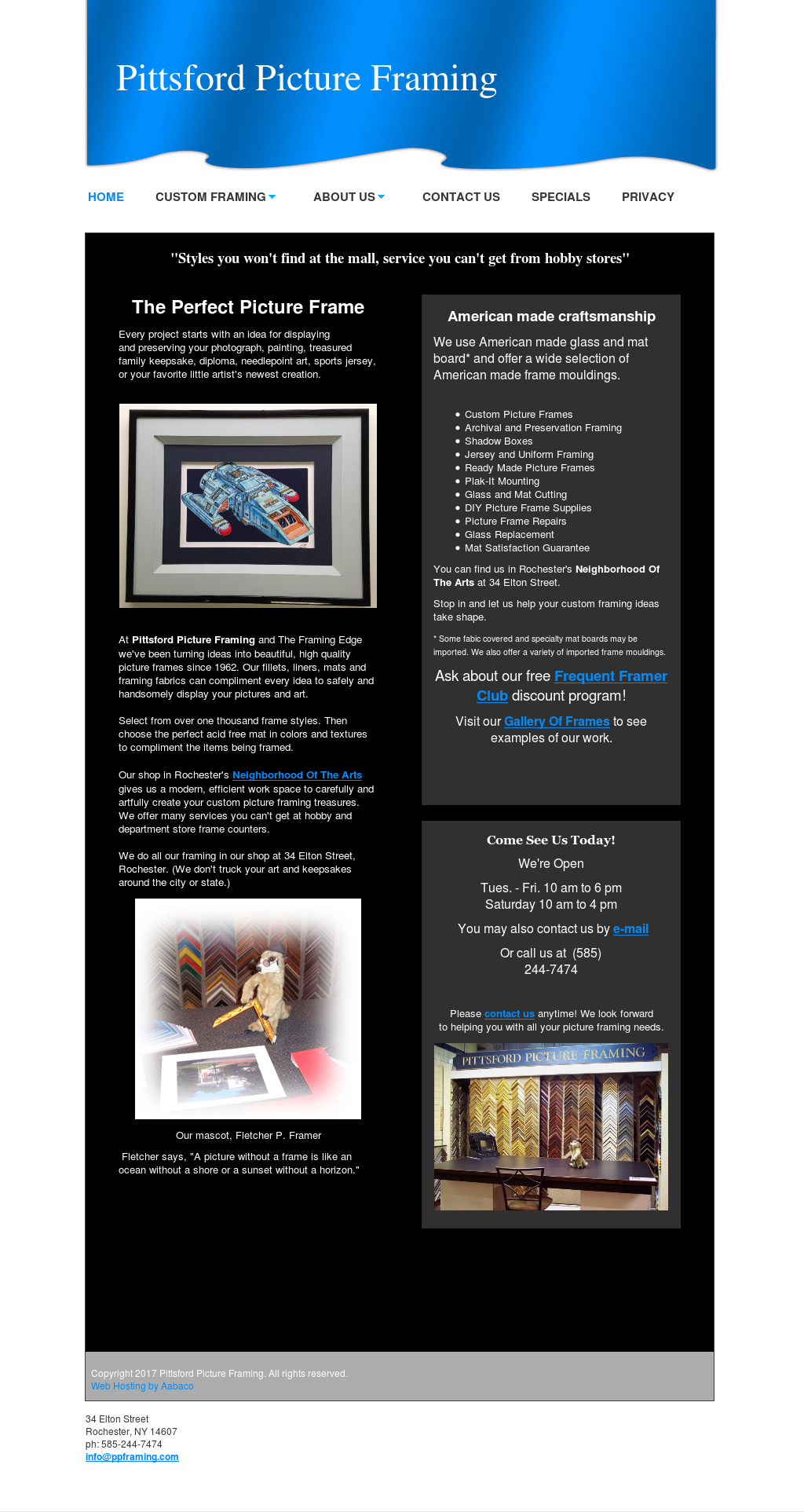 Pittsford Picture Framing Competitors, Revenue and Employees - Owler ...