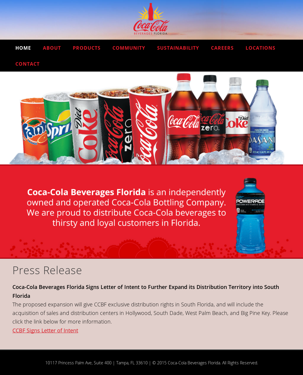 Coca-Cola Beverages Florida Competitors, Revenue and Employees