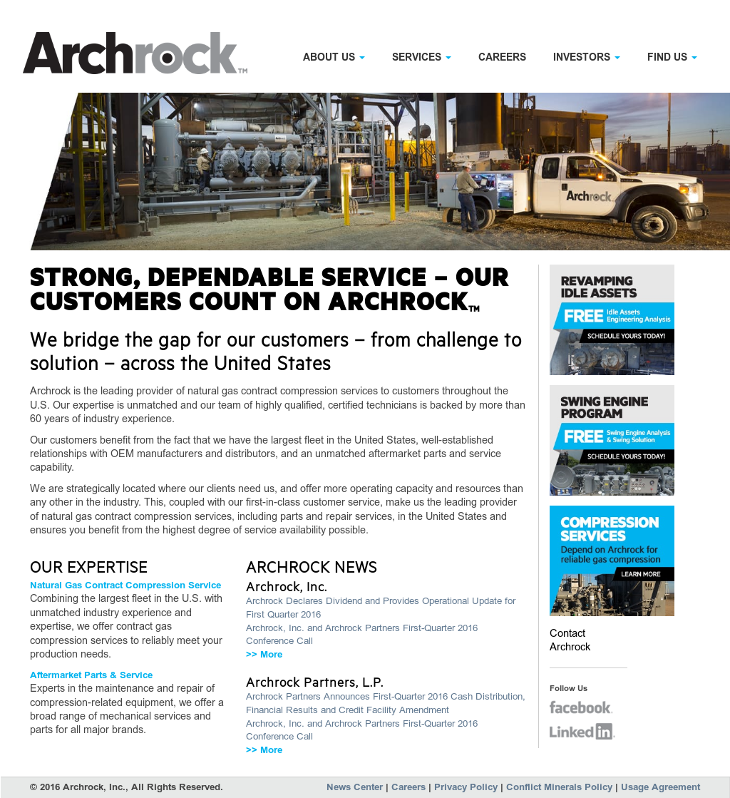 Archrock Competitors, Revenue and Employees - Owler Company