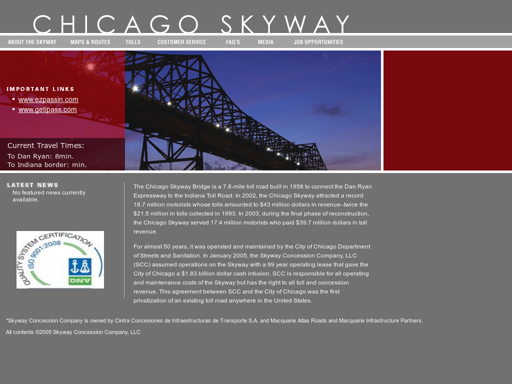 Chicago Skyway Competitors, Revenue and Employees - Owler