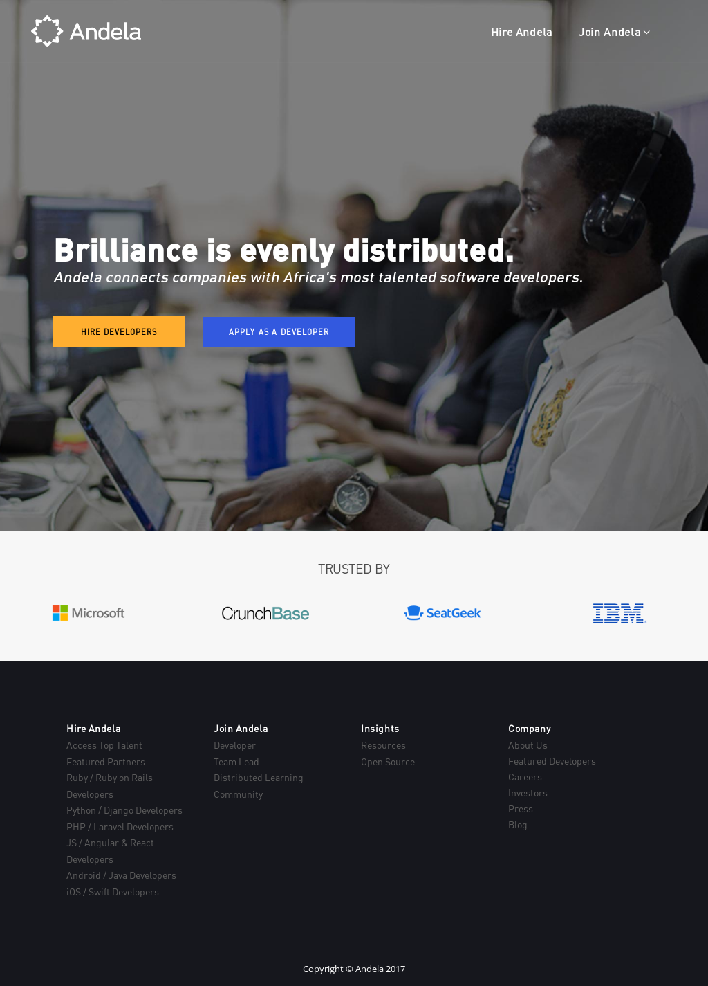 Andela Competitors, Revenue and Employees - Owler Company Profile