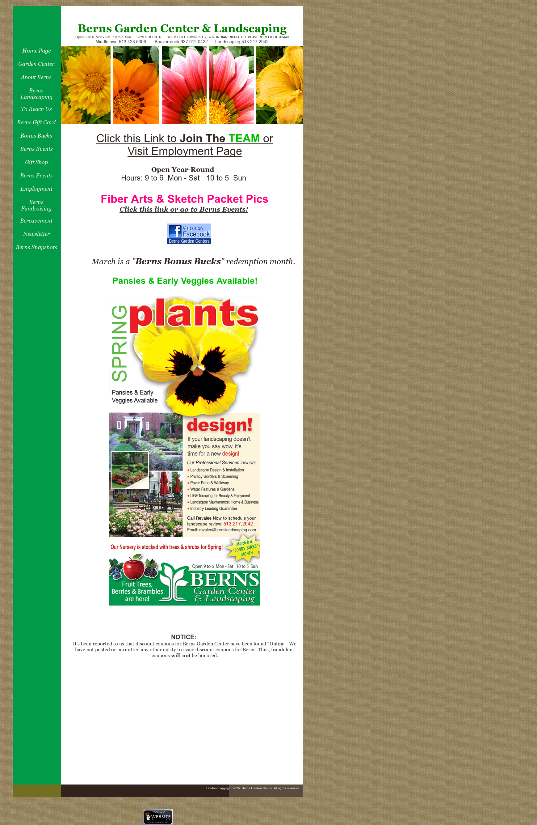 Berns Garden Center Competitors, Revenue And Employees ...