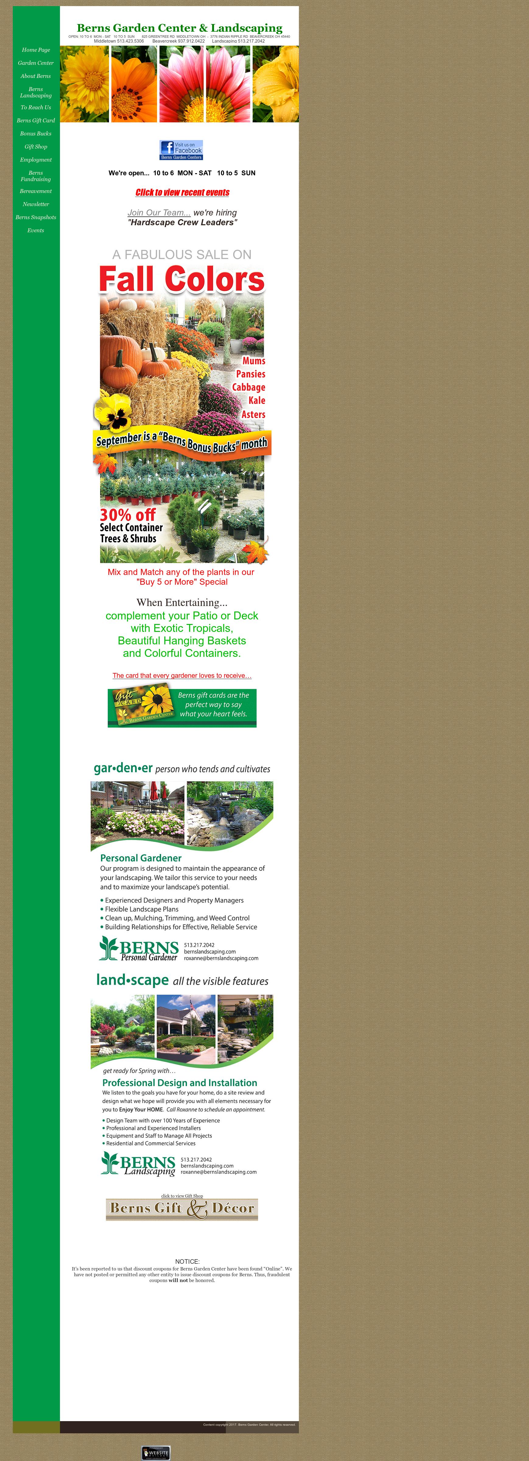Merveilleux Berns Garden Center Competitors, Revenue And Employees ...
