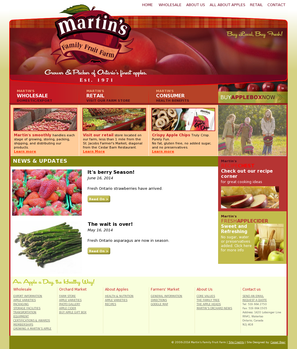 Martin S Family Fruit Farm S Competitors Revenue Number Of Employees Funding Acquisitions News Owler Company Profile