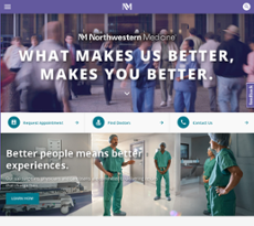 Northwestern Medicine Competitors, Revenue and Employees
