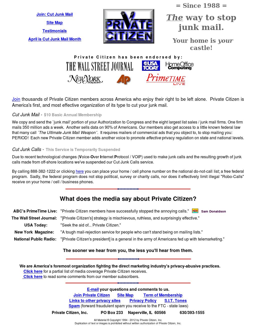 Privatecitizen Competitors, Revenue and Employees - Owler