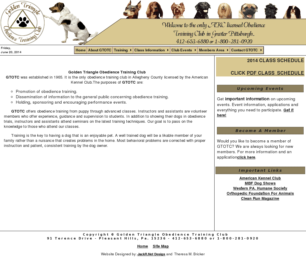 Golden Triangle Obedience Training Competitors, Revenue and