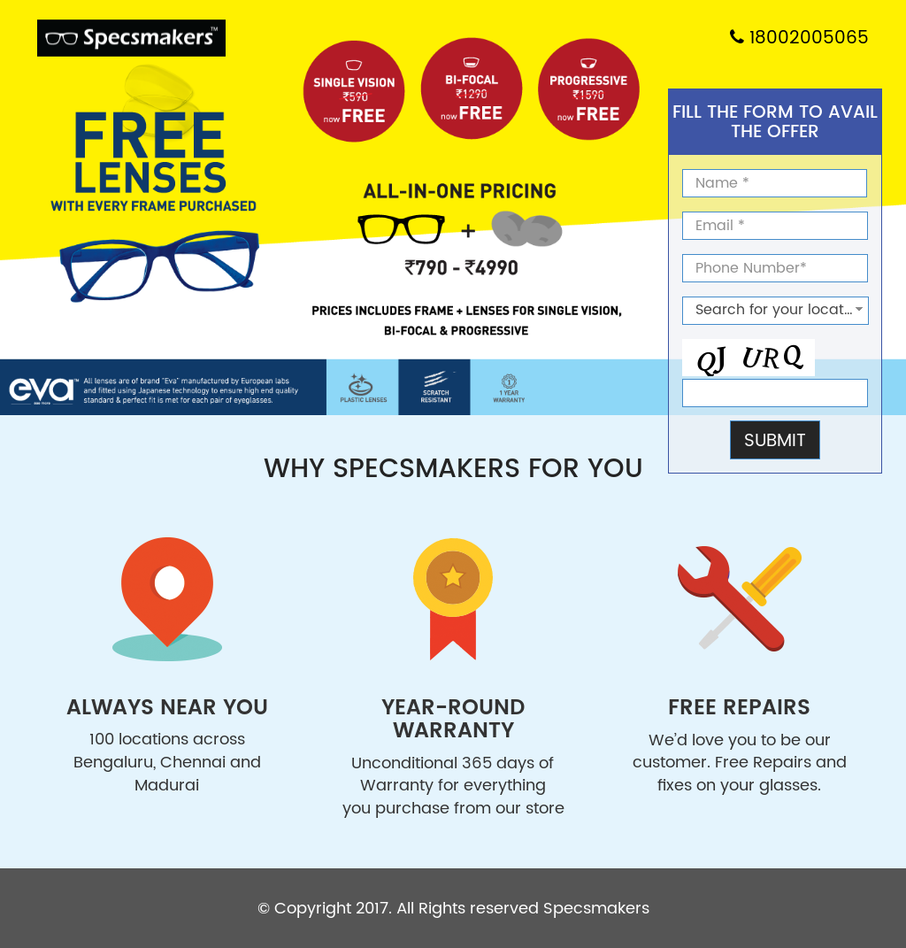 bf9bf4667c8b Specsmakers Opticians Competitors