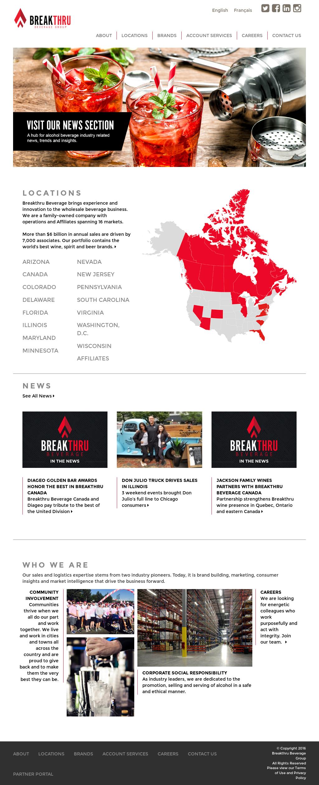 Breakthru Beverage Competitors, Revenue and Employees