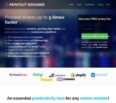 photo about Printout Designer referred to as Printout Designer Compeors, Cash and Workforce - Owler