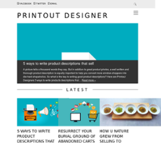 photograph regarding Printout Designer named Printout Designer Compeors, Gross sales and Workforce - Owler