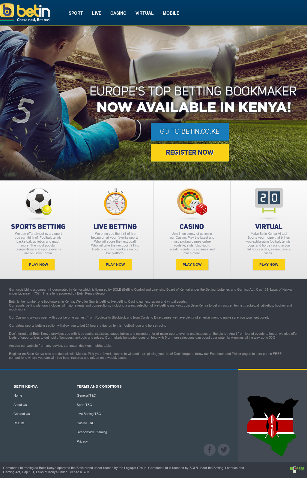 Betin Kenya Competitors, Revenue and Employees - Owler Company Profile