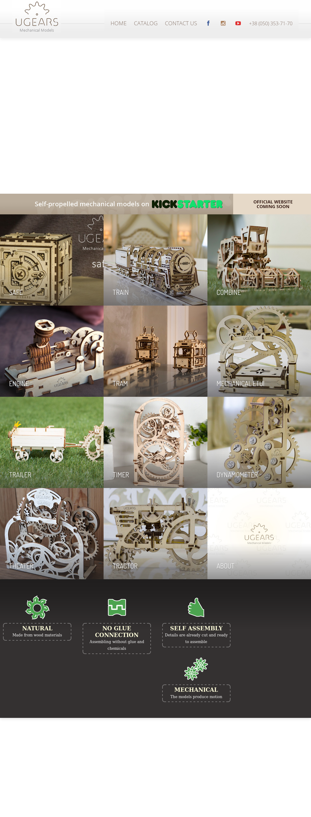 Owler Reports - UGears Models posted a video