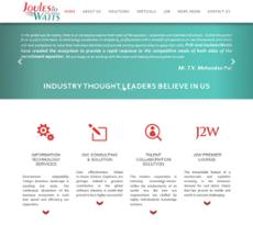 JoulestoWatts website history