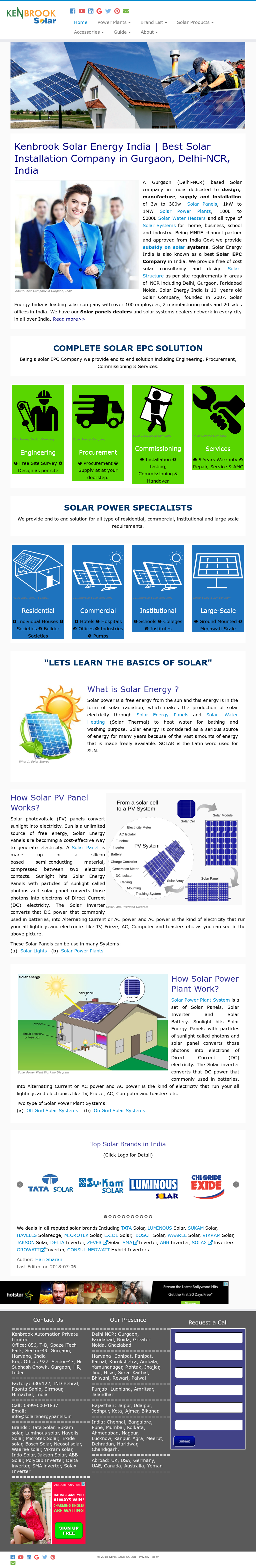 Solar Energy India Competitors Revenue And Employees Owler Epc Fuse Box Website History