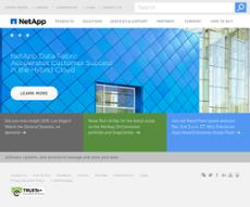 NetApp website history