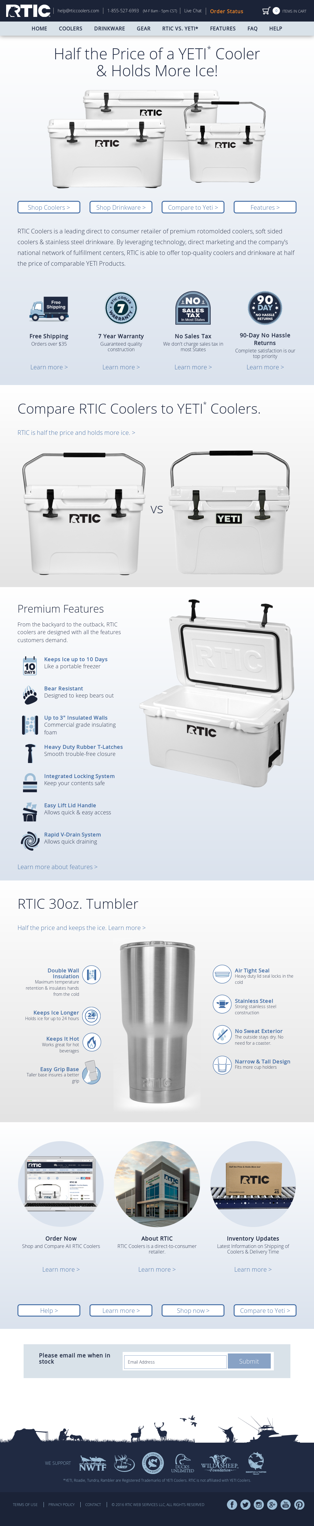 RTIC Coolers Competitors, Revenue and Employees - Owler