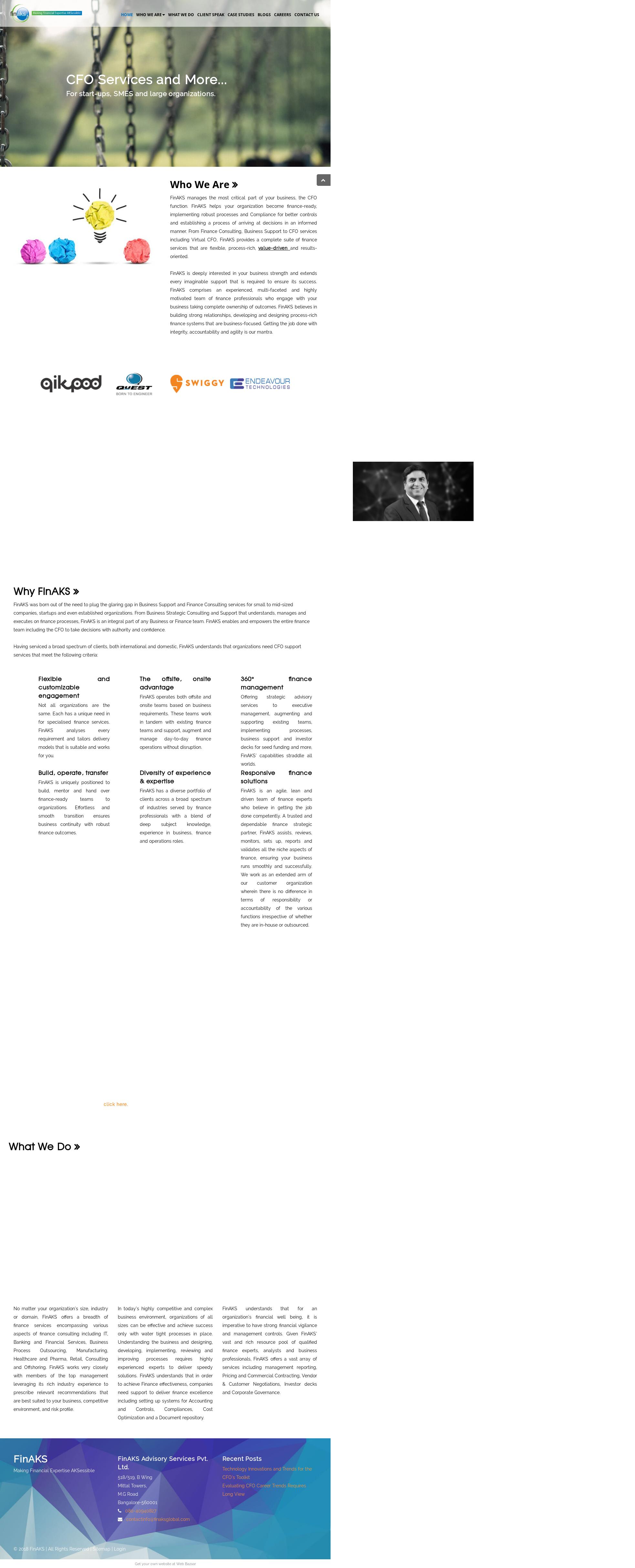 Finaks Competitors, Revenue and Employees - Owler Company Profile