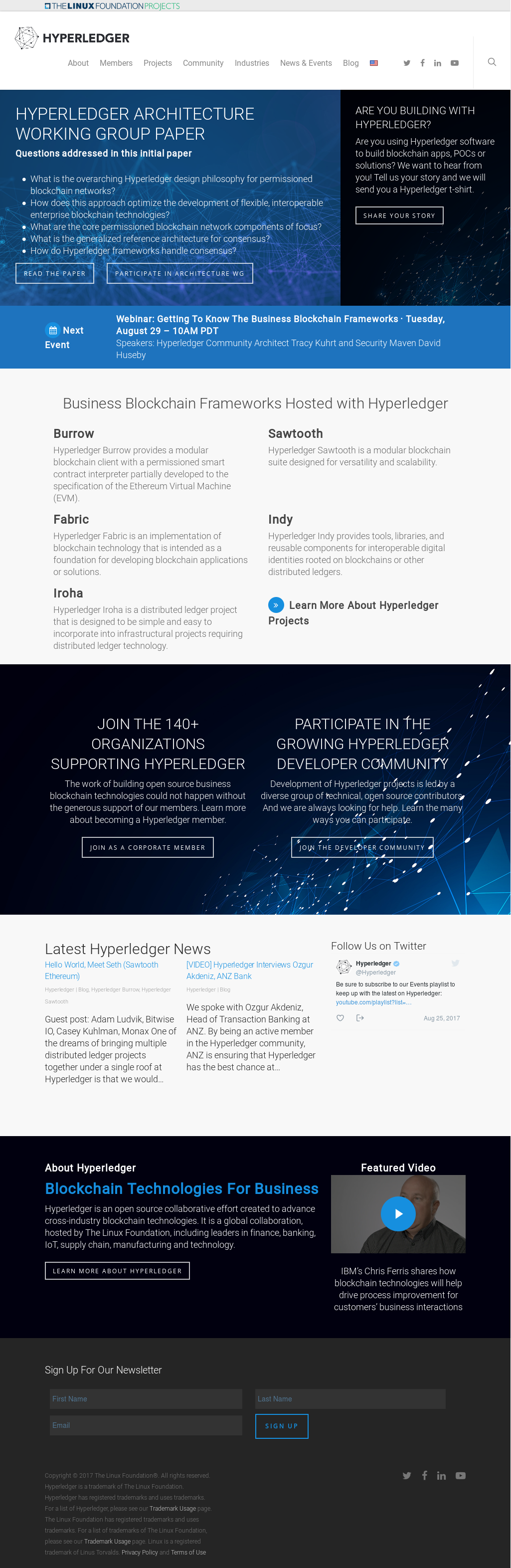 Hyperledger Competitors, Revenue and Employees - Owler Company Profile