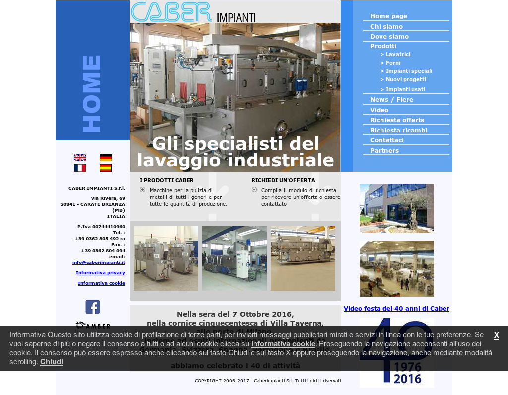 Progetti Srl Carate Brianza caber impianti s.r.l. competitors, revenue and employees