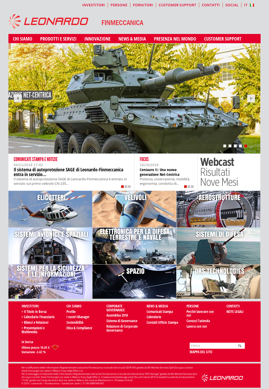 Owler Reports - Leonardo Company: Leonardo-Finmeccanica to