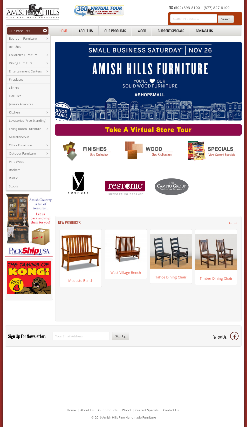 Amish Hills Fine Handmade Furniture Compeors Revenue And Employees Owler Company Profile