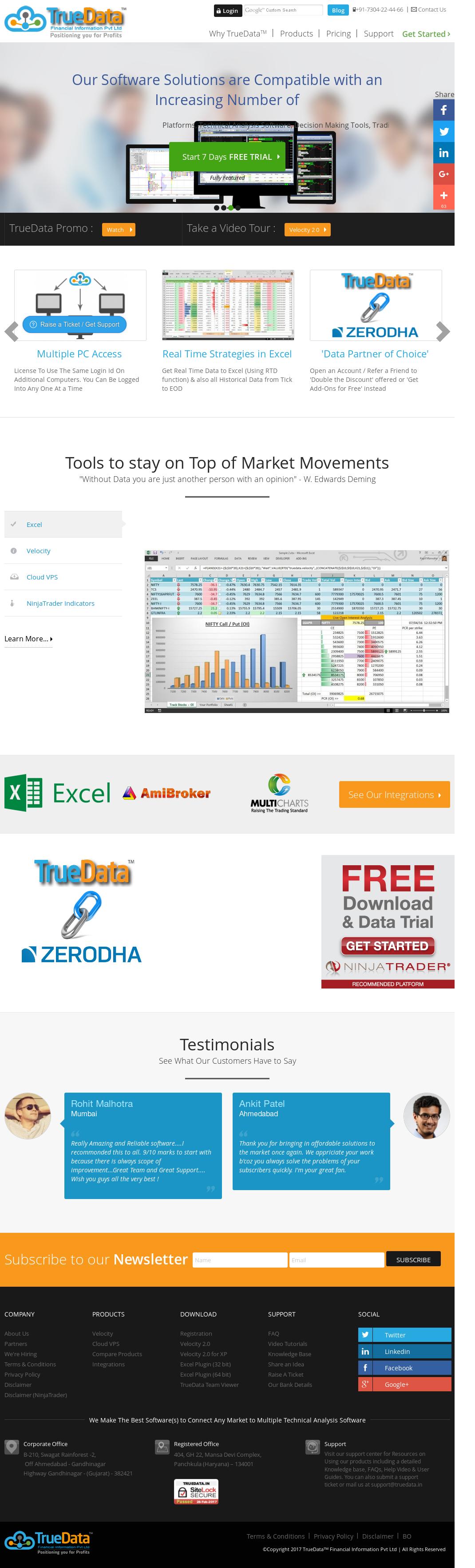 TrueData Competitors, Revenue and Employees - Owler Company Profile