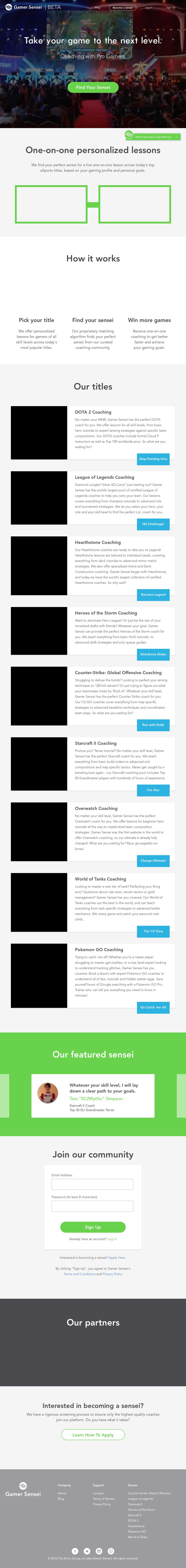 Gamer Sensei Competitors, Revenue and Employees - Owler