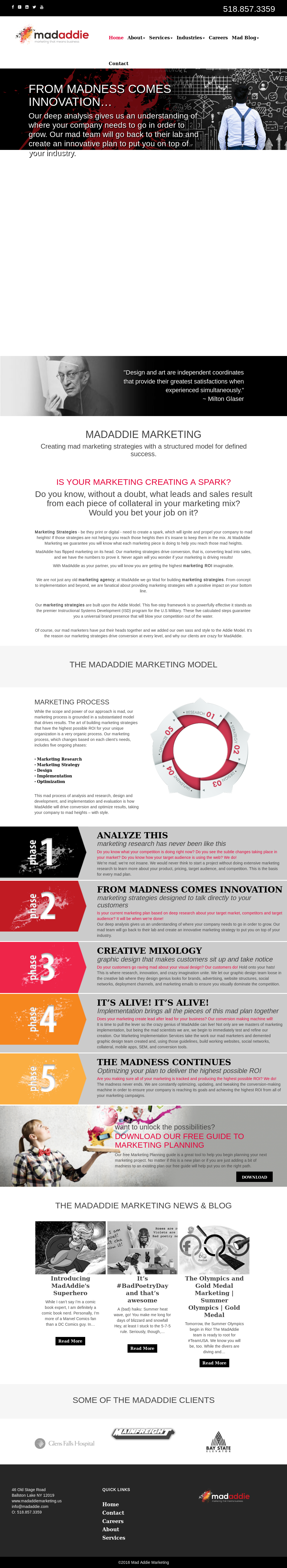 MadAddie Marketing Competitors, Revenue and Employees - Owler