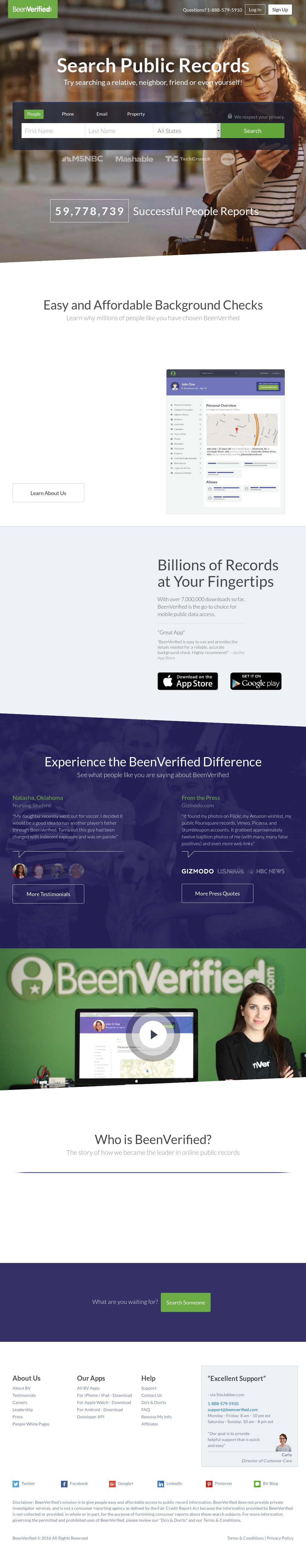 been www beenverified com