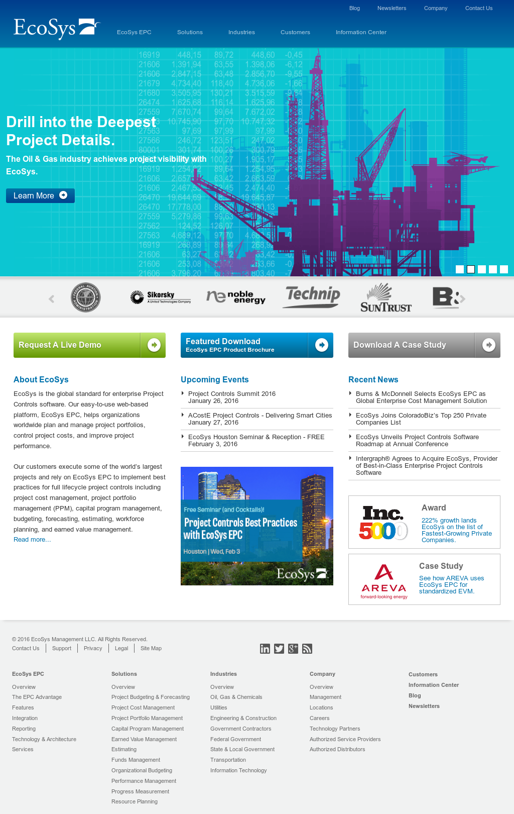 EcoSys Competitors, Revenue and Employees - Owler Company Profile
