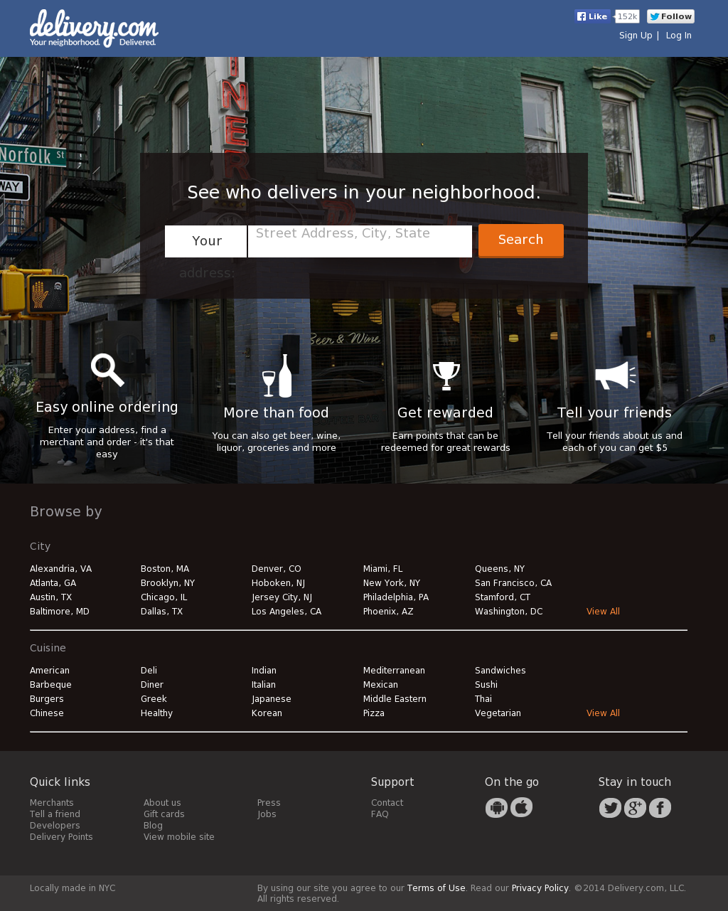 delivery company profile owler