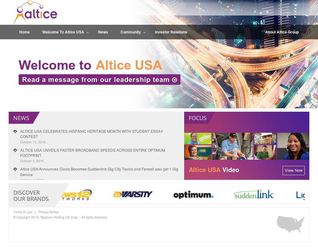 Altice USA Competitors, Revenue and Employees - Owler Company Profile