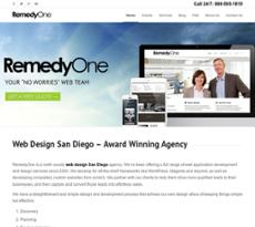 RemedyOne website history