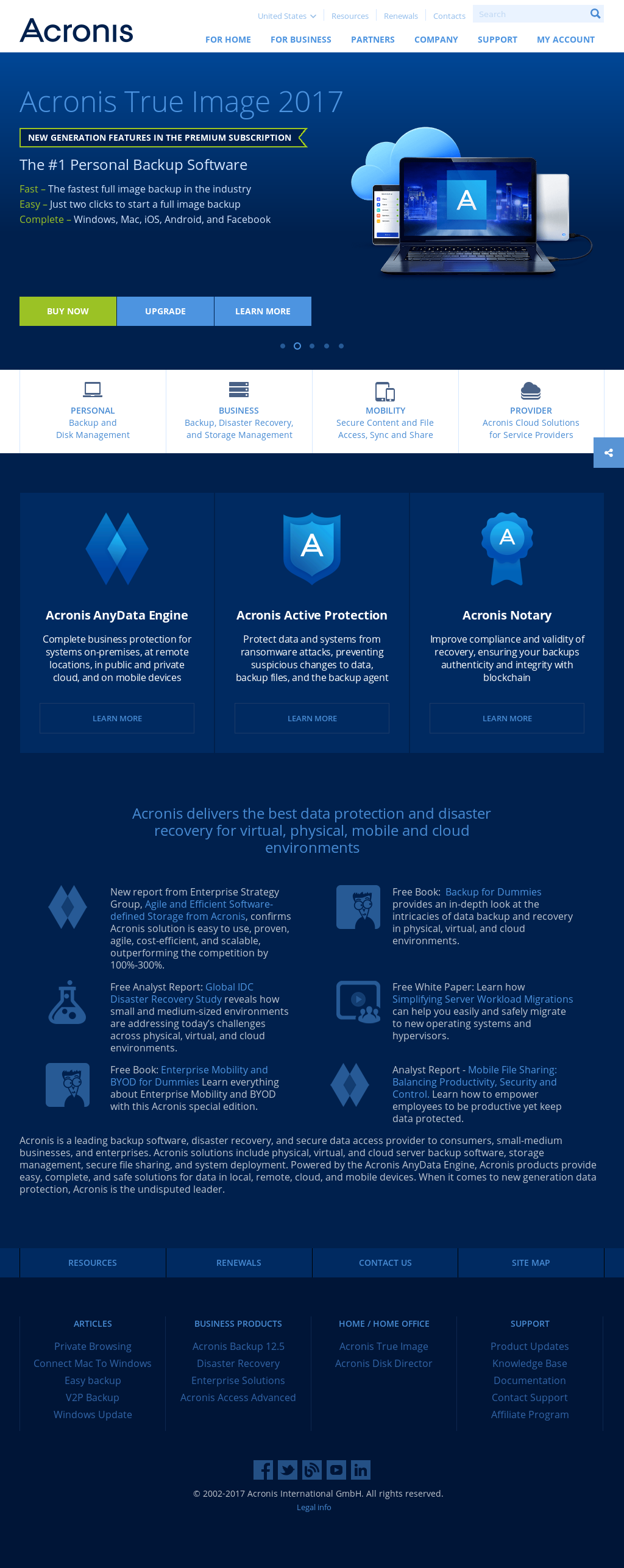Acronis Competitors Revenue And Employees Owler Company